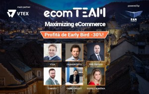 Conversii mai multe, platforme eCommerce mai eficiente, marketing modern:ecomTEAM 2018