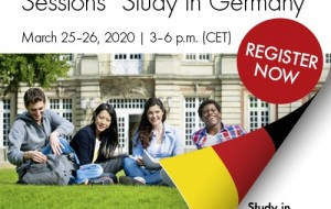 Studiu în Germania! - Online Information Sessions Europe 2020